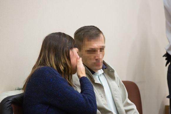 Beklaagde Mariusz M. staat voor het hof van assisen in Tongeren terecht voor moord