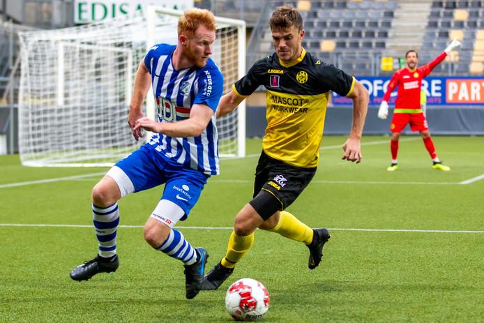 Jort van der Sande ontbreekt de komende tijd bij FC Eindhoven.