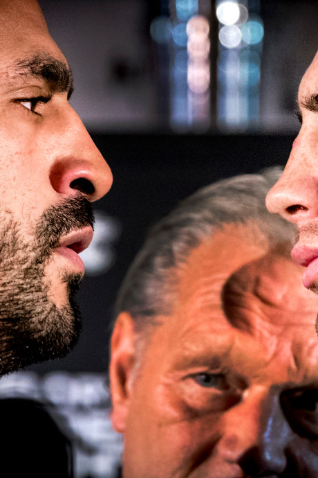 LIVE | Rico Verhoeven en Badr Hari ontmoeten elkaar voor strijd in GelreDome