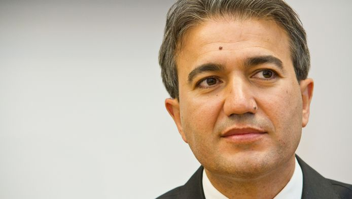 Emir Kir, de burgemeester van Sint-Joost-ten-Node.