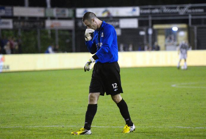 Christian de Haan baalt, eerder dit seizoen.