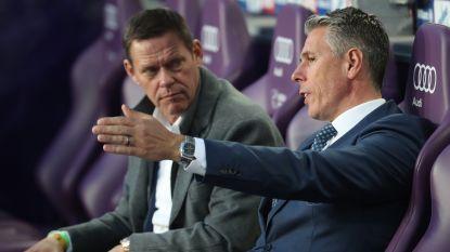 Anderlecht heeft drie opties in zoektocht naar nieuwe coach