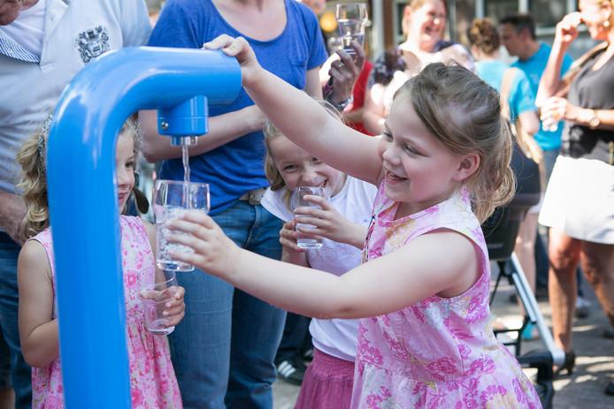 Een watertappunt van Join the Pipe in Vlaardingen.