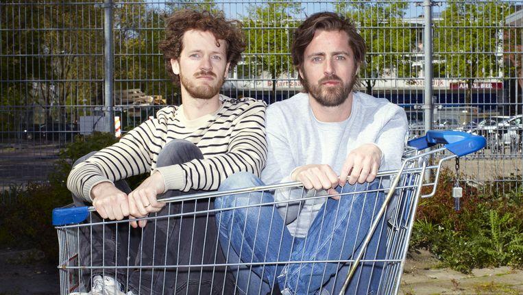 Hugo van Woerden (links) en Philip Brink Beeld Daniel Cohen