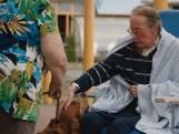 Na drie maanden ziekenhuis ziet Marcel eindelijk zijn hond terug