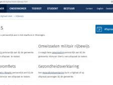 Man opgelicht met rijbewijsaanvraag via nepsite van gemeente Vlissingen
