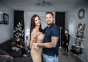 Wesley Philipsen (31) en Tamara Gaertner (30) en hun kinderen Mila (10), Dani (8), en Riley (2)