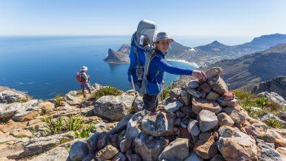 Hiken achter de 'Berg in Zee'