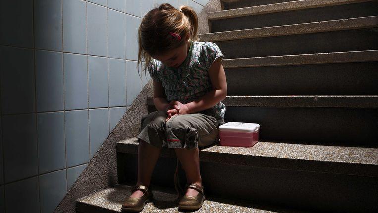 In Nederland zijn nog altijd 118.000 kinderen slachtoffer van kindermishandeling; 'ontoelaatbaar' schrijft het rapport. (archieffoto) Beeld ANP XTRA