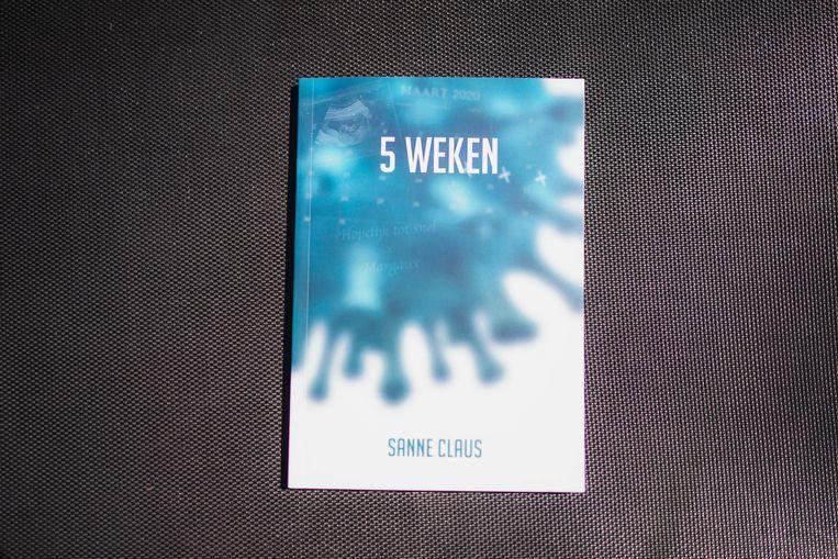 Het boek '5 weken'.