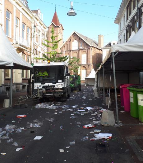 Nijmegen ruimt op na zeven dagen feest