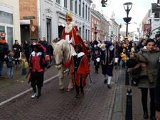 Sinterklaas zorgt voor zon in Hulst