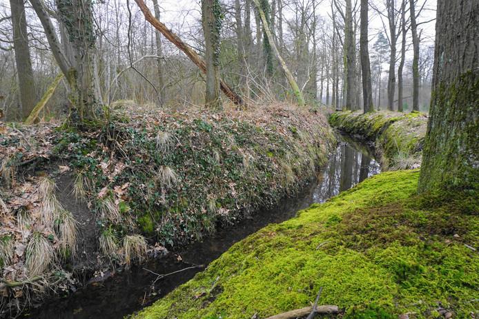 De gresnwal tussen het landgoed Velder en Heerenbeek. Vroeger vooral van economisch belang, nu ook ecologisch van grote waarde.