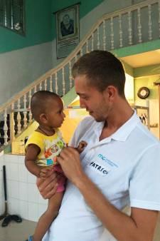 Verpleegkundige Patrick van Westervoort naar Senegal voor blije kindergezichten