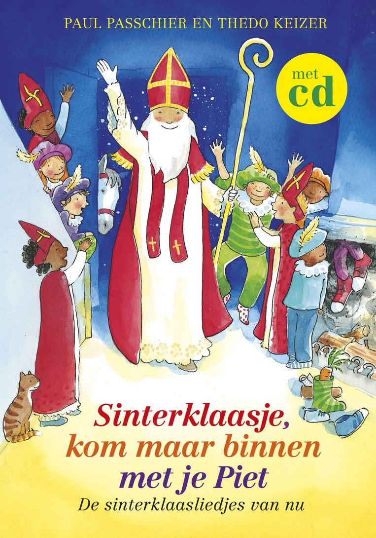 'Sinterklaasje kom maar binnen met je Piet' Beeld ap