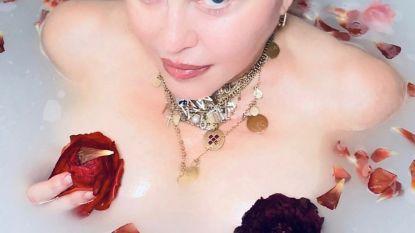 Madonna onder vuur nadat ze naakt in bad gedachten deelt over corona