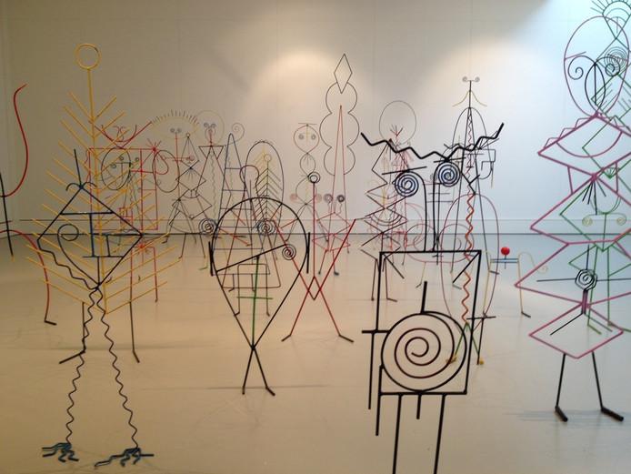 De KEG exposeert momenteel werken van Henk Visch in 't Spectrum in Schijndel.