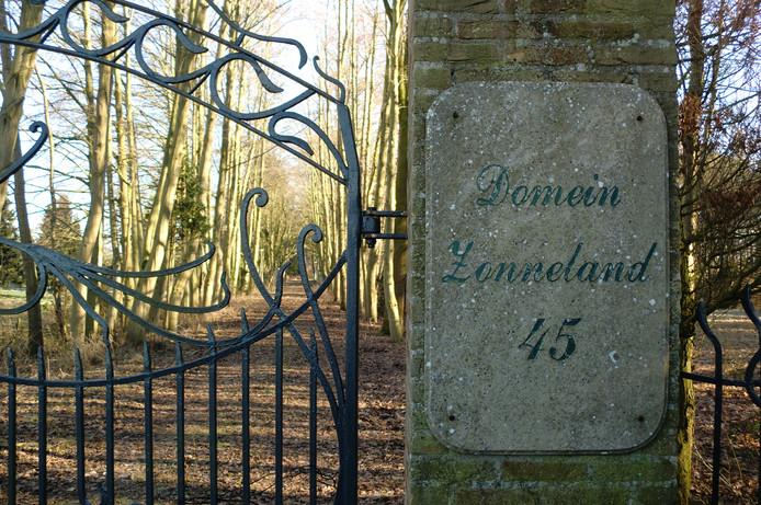 De ingang van Zonneland