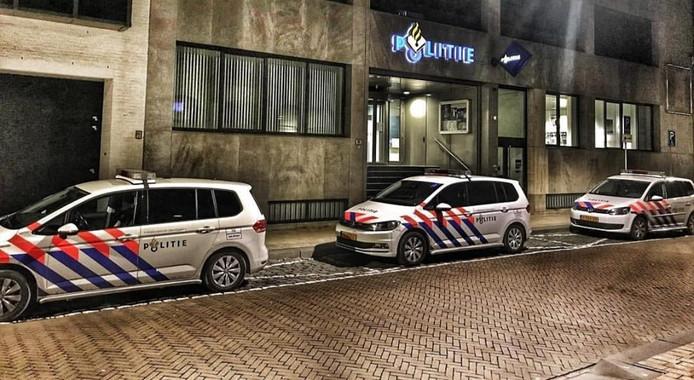 Het politiebureau in Tilburg.