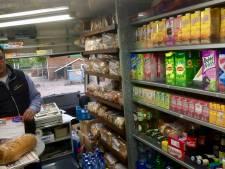 Rijdende winkel wijzigt route in Baalder