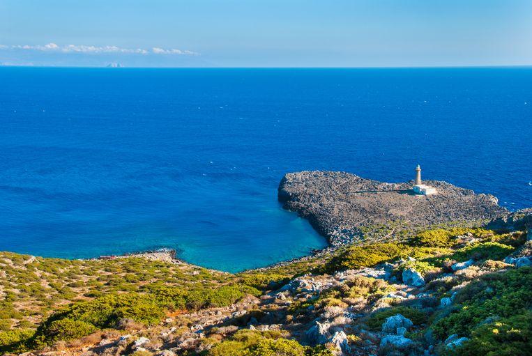 Het idyllische eiland Antikythera