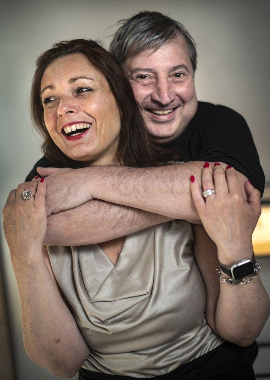 Rosalie Bogaard: 'Het ergst vond ik het om mensen te horen zeggen: 'Kijk, dat is Ludo Van Campenhout, strontzat!' Of nog erger: dat ze met hun smartphone een foto van hem namen.' Beeld