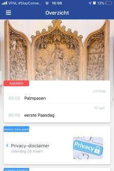 Bisdom Den Bosch komt met app om elkaar te helpen 'Versterking in deze tijd'