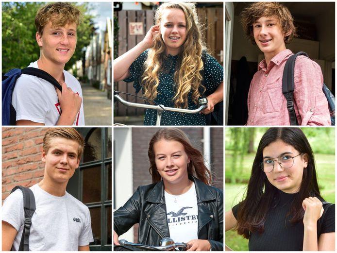 Deze zes scholieren uit het Groene Hart komen aan het woord over het nieuwe schooljaar.