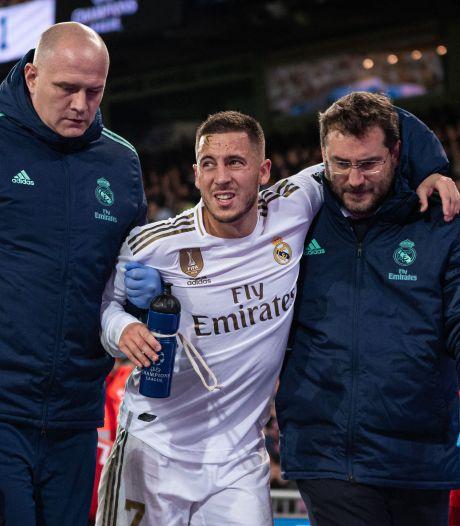 Real Madrid mist Hazard in 'Clásico'