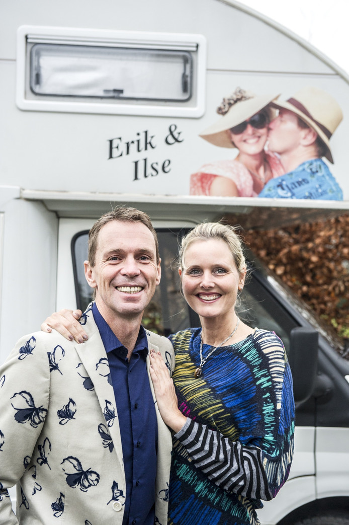 Erik Dekker en vriendin Ilse.