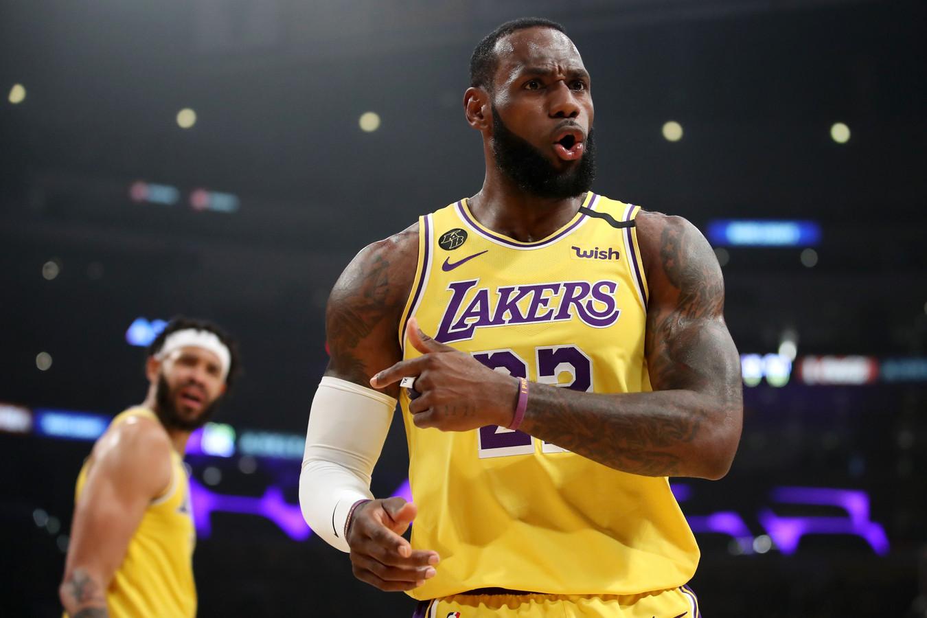LeBron James tient absolument à finir la saison de NBA.