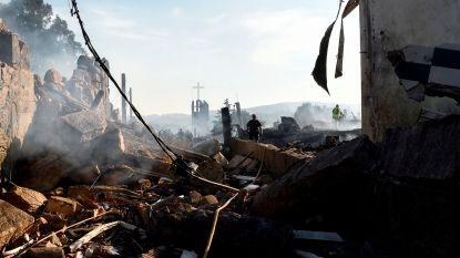 Ontploffing in Spaanse vuurwerkfabriek: 2 doden en 37 gewonden