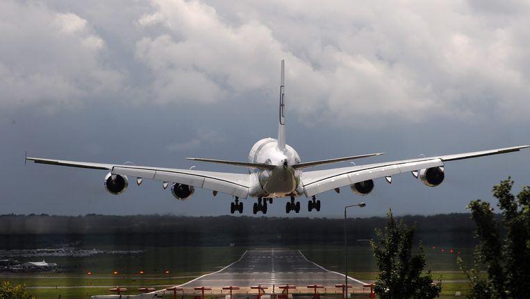 Een Airbus A380. Beeld EPA