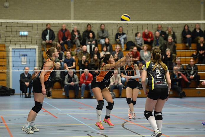 Volleybal in Cuijk.