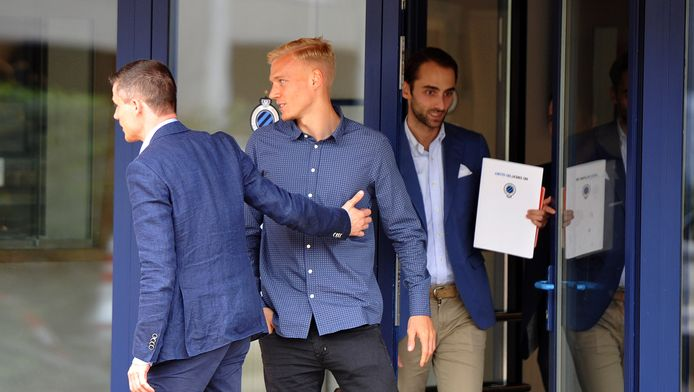 Saulo Decarlo tekende voor drie jaar bij Club Brugge.