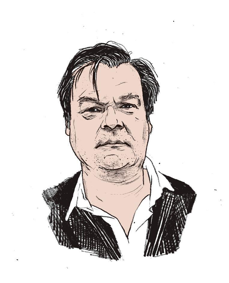 Wie is Maurice De Velder, de peetvader van 'P-magazine?'