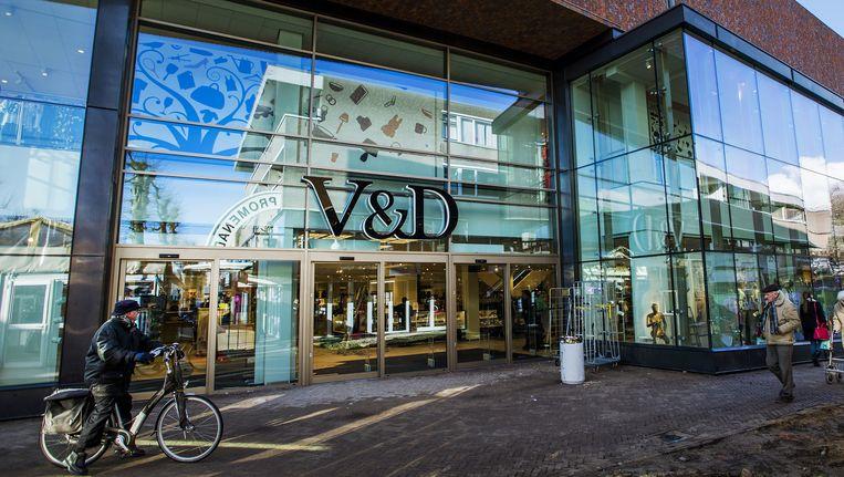 De vestiging van warenhuis V&D in Uden. Beeld anp
