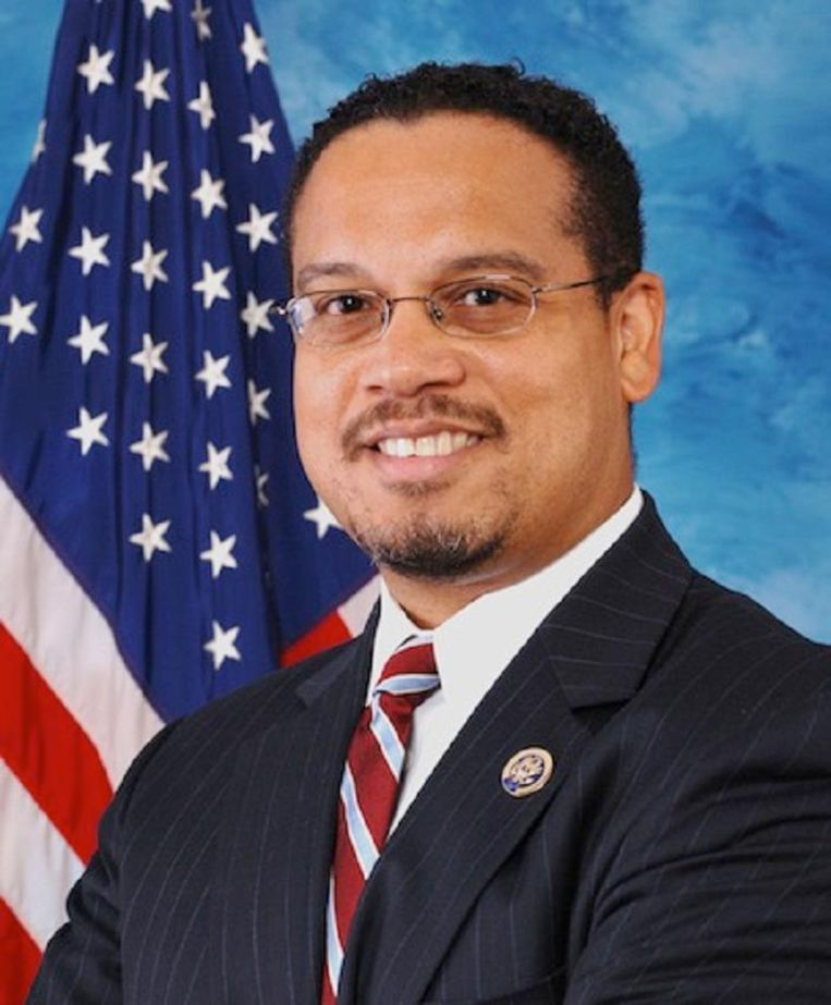 Keith Ellison Beeld Wikimedia Commons