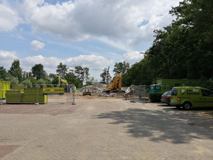 Sporthal Beekdal in Haaren is een jaar geleden gesloopt.