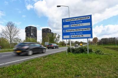 Struiken in Breda waarachter politie regelmatig op snelheid controleert 'plotseling' gesnoeid