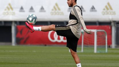 """Zidane zet Hazard weer in Real-selectie voor herstart La Liga: """"Hij vliegt echt sinds zijn terugkeer"""""""