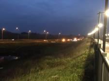 N50 bij Kampen gestremd door ongeluk met 2 auto's en bestelbus