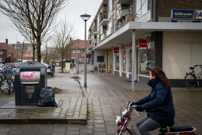 Een afvalcontainer in Arnhem, foto ter illustratie.