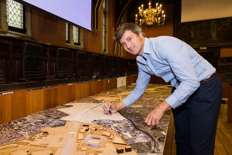 SoGent-voorzitter Sven Taeldeman