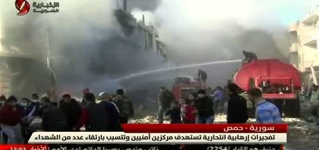Zeker 32 doden door bomaanslagen in Homs