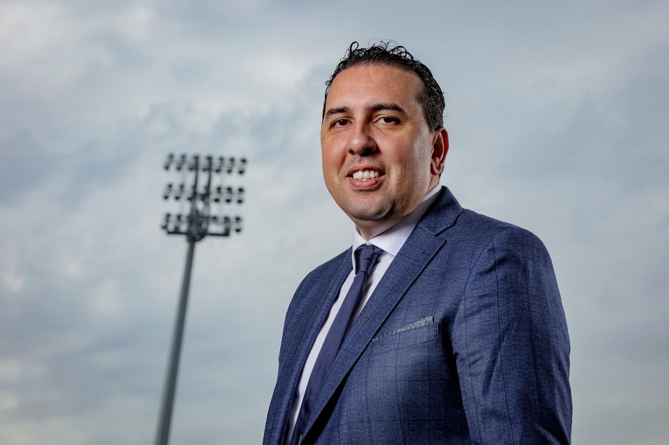 Mohammed Hamdi, de nieuwe algemeen directeur van ADO Den Haag.
