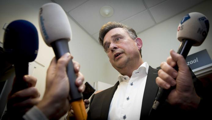 SP-leider Roemer na het ingelaste crisisberaad