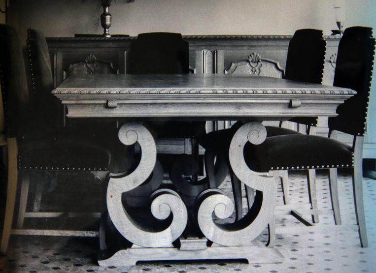 Een tafel voor Victor Buyck, stichter van Victor Buyck Steel Construction in Eeklo.