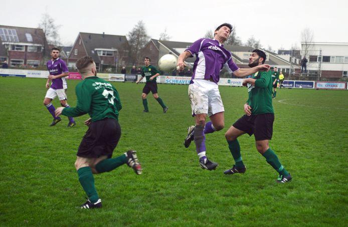 Domenique van den Berge was goud waard voor Bruse Boys.