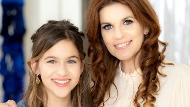 """Katja Retsin blikt met dochter Milla vooruit naar haar plechtige communie: """"Dankzij een talentencoach is ze enorm opengebloeid"""""""
